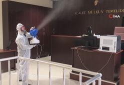 Adalet Bakanlığı koronavirüse karşı alınan tedbirleri açıkladı