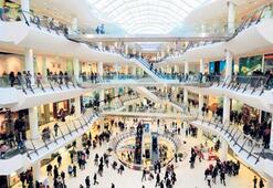 Alışveriş merkezleri dezenfekte ediliyor