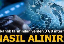 Bakanlığın dağıttığı uzaktan eğitim için verilen 3GB internet nasıl alınır