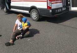 Kaza sonrası can pazarı Böyle yardım beklediler...