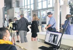 375 turiste termal kamerayla kontrol