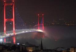 İstanbulda sis... Göz gözü görmedi