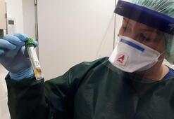 Türk hemşireden corona virüs uyarısı 25 kişilik özel ekibin içinde...