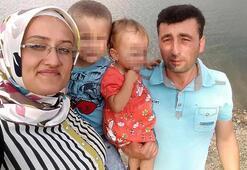 Kazada ölen çift toprağa verildi, çocuklarının tedavisi sürüyor