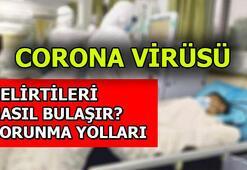 Corona virüsü belirtileri nedir Corona Virüsünden korunma yolları neler
