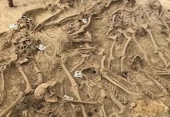 108 yıl önce şehit olan 30 askerin mezarı bulundu