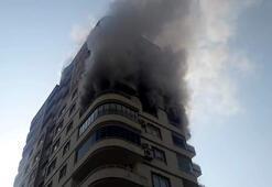 Yangında balkondan sarkıp düşen kadının ölümüyle ilgili itfaiyecilere soruşturma