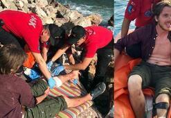 Kayalıktan düşen Hollandalı turisti böyle kurtardı