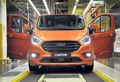 Ford'un elektrikli ticarileri Gölcük'ten