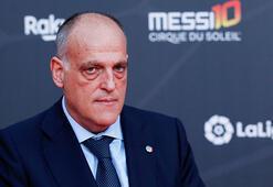 La Liga Başkanı Tebas: Bu sezonu iptal edebiliriz