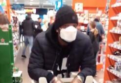 Ryan Babel corona virüs alışverişinde görüntülendi