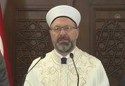 Diyanet İşleri Başkanı Prof. Dr. Erbaş, corona virüs ile igili açıklamalar yaptı