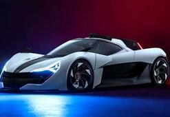 Apex'ten 650 beygirlik elektrikli otomobil
