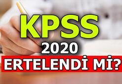 KPSS ertelendi mi KPSS 2020 sınav tarihleri ne zaman