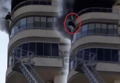 Yangına tanık olan görgü tanığı Merdiven kısa kaldı