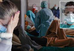 Son dakika haberleri... Corona virüsü hemşireyi hüngür hüngür ağlattı