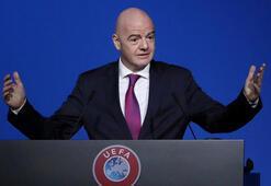 Infantinodan 2021 Dünya Kulüpler Kupasının ertelenmesi talebi