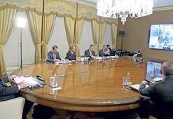 Liderler korona ve Suriye'yi konuştu
