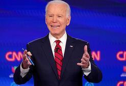 ABDde Demokratların başkanlık yarışında Bidenın zafer gecesi