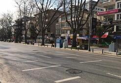 İstanbul'un lüks caddesi sessizliğe büründü