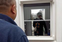 Bulgaristana açılan Dereköy Sınır Kapısında corona virüse karşı tedbirler arttırıldı