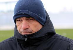 Rıza Çalımbay: Futbolcular huzur içinde maça çıkmıyor