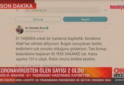 Sağlık Bakanı Koca: 61 yaşındaki bir hastamızı kaybettik