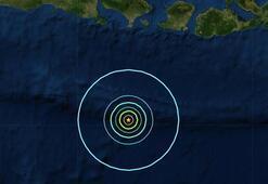 Bali Adasından şiddetli deprem