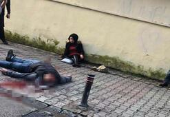 Ümraniye'de dehşet Kadına kurşun yağdıran kişi yoldan geçen birini de vurdu