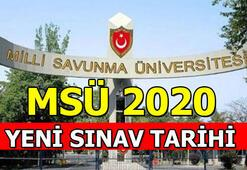 MSÜ sınavı 2020 ertelendi ÖSYM yeni tarihi duyurdu