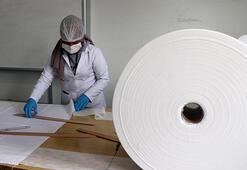 Gaziantepte meslek liseliler maske üretimine başladı