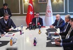 Son dakika | Bakan Kasapoğlu resmen açıkladı: Liglerin ertelenmesine karar verdik