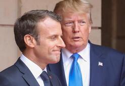 Trump ve Macron telefonda corona virüsü görüştü