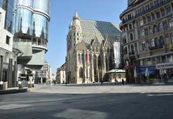 Viyanada corona virüs nedeniyle kısıtlama