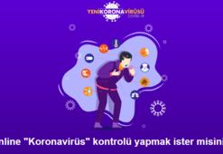 Online corona virüsü testi nasıl yapılır Korona virüsü testi linki...