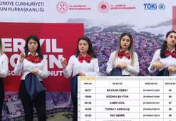 TOKİ İstanbul Başakeşhir kura çekiliş sonuçları açıklandı 2020 TOKİ İstanbul Başakşehir sıralı tam liste