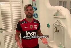 Diego Ribastan el yıkama tüyoları