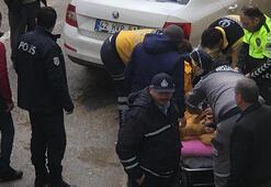 Konyada satırlı ve sopalı kavgada 3 kişi yaralandı