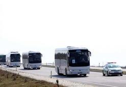 Yurt dışından gelen yolcular Kırklarelinde öğrenci yurtlarına yerleştirildi