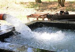 Yer altı sularına kontrollü tüketim şartı