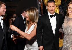 Angelina Jolieden Jennifer Anistona veto: Çocuklarımı göremez