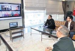 AK Parti İzmir'de telekonferans