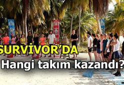 Survivorda ödül oyununu hangi takım kazandı Ünlüler mi Gönüllüler mi