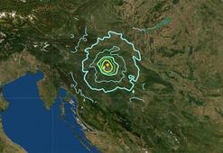 Son dakika Hırvatistanda deprem
