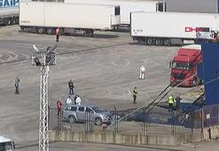 Ukraynadan dönen gemici ve TIR sürücülerine 14 gün karantina