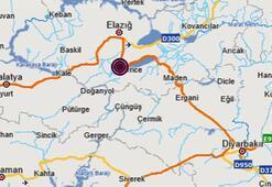 Son dakika   Elazığda 3.5 büyüklüğünde deprem