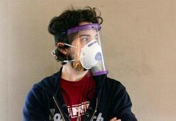 3D yazıcıyla siperli maske
