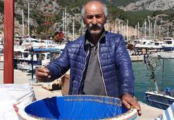 Balıkçıların balon balığı hazırlığı