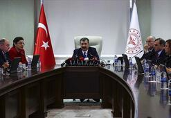 Sağlık Bakanı Fahrettin Kocadan corona virüs açıklaması...