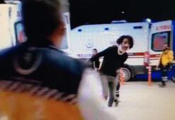 Türkiye sağlık çalışanlarını alkışlarken, alkollü sürücü saldırdı